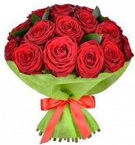 11 adet kırmızı gül buketi  Gümüşhane online çiçekçi , çiçek siparişi