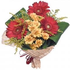 karışık mevsim buketi  Gümüşhane anneler günü çiçek yolla