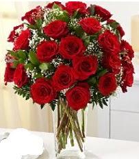 Vazo içerisinde 33 adet kırmızı gül  Gümüşhane yurtiçi ve yurtdışı çiçek siparişi