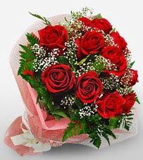 12 adet kırmızı güllerden kaliteli gül  Gümüşhane kaliteli taze ve ucuz çiçekler