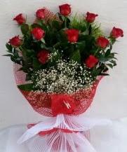 11 adet kırmızı gülden görsel çiçek  Gümüşhane cicek , cicekci