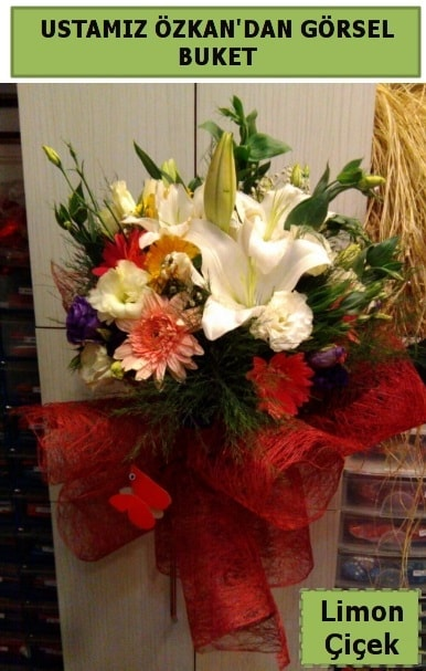 Karışık görsel mevsim çiçeği  Gümüşhane uluslararası çiçek gönderme