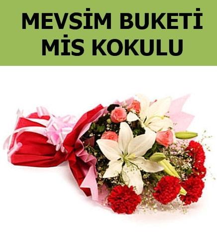 Karışık mevsim buketi mis kokulu bahar  Gümüşhane uluslararası çiçek gönderme