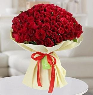 101 adet kırmızı gül buketi koca demet  Gümüşhane çiçek mağazası , çiçekçi adresleri